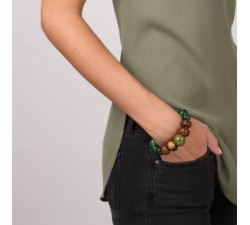 Kalimantan - Stretch Bracelet - Nature Bijoux-alt