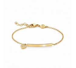 Gioie Heart Gold-Plated - Bracelet - Nomination