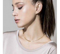 Armonie Oval Gold-Plated - Necklace - Nomination-alt