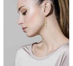 Armonie Oval Gold-Plated - Earrings - Nomination-alt