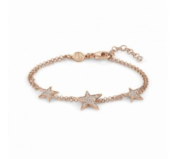 Stella Star Rose Gold-Plated - Bracelet 2 Rows -...