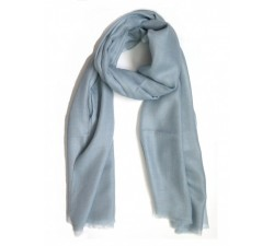 Shawl Cashmere Light Grey - Colores de Otoño