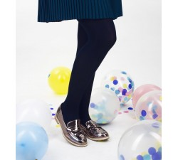 Chloé - Navy Blue Tights - Jolie Frenchy
