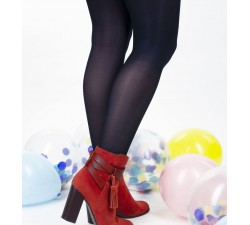 Charlotte - Navy Blue Tights - Jolie Frenchy-alt