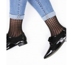 Caroline - Tiles Socks - Jolie Frenchy-alt