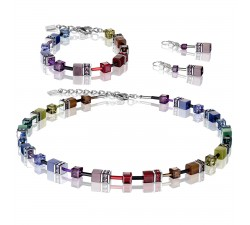 2838 Multicolor Dark Rainbow - Bracelet Cœur de Lion-alt
