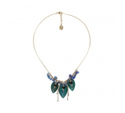 Agapanthe - Leaf Necklace - Nature Bijoux