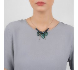 Agapanthe - Leaf Necklace - Nature Bijoux-alt