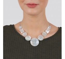 Stockholm - Plastron Necklace - Nature Bijoux-alt