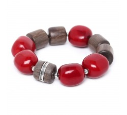 Mauna Loa - Stretch Bracelet - Nature Bijoux
