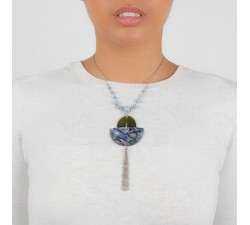 Okarito - Pendant Necklace - Nature Bijoux-alt