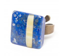 Blue Tribe - Blue Ring - Nature Bijoux