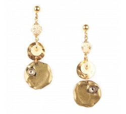 Amandine - Pendant Earrings - Franck Herval