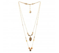 Amandine - Double Necklace - Franck Herval