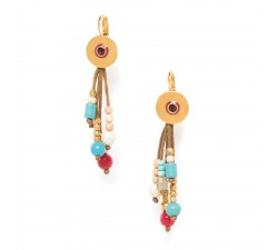 Angele - Leverback Earrings - Franck Herval