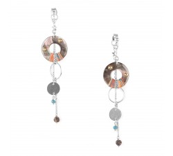 Dannie - Pendant Earrings - Franck Herval