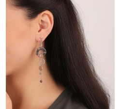 Dannie - Pendant Earrings - Franck Herval-alt