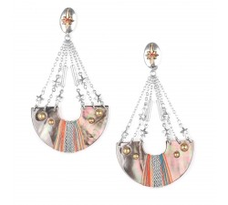 Dannie - Half-Moon Earrings - Franck Herval