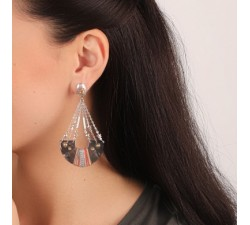 Dannie - Half-Moon Earrings - Franck Herval-alt