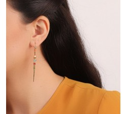Emma - Long Earrings - Franck Herval-alt