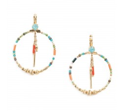 Emma - Gypsy Earrings - Franck Herval
