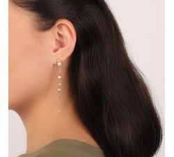 Isabelle - Chain Earrings - Franck Herval-alt