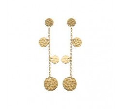 Beads - Gold-Plated Earrings
