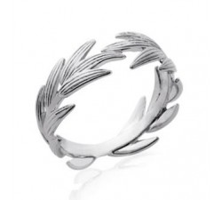 Laurels - Silver Ring