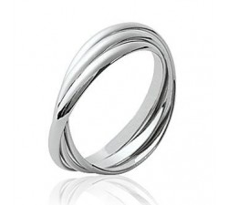 Intertwined Alliance - Silver Ring