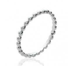 Beads - Silver Ring