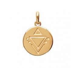 Nazca - Gold-Plated Pendant