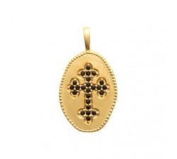 Cross - Gold-Plated Pendant
