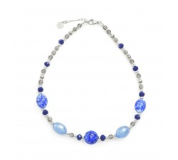 Fenice Blue - Necklace - Antica Murrina