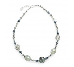 Fenice Black - Necklace - Antica Murrina