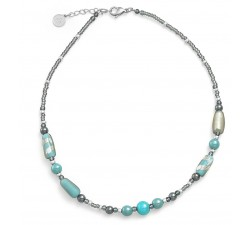 Gabrielle Blue - Necklace - Antica Murrina