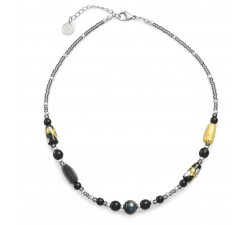 Gabrielle Black - Necklace - Antica Murrina