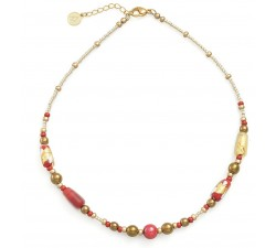 Gabrielle Red - Necklace - Antica Murrina