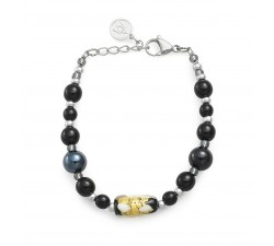 Gabrielle Black - Bracelet - Antica Murrina