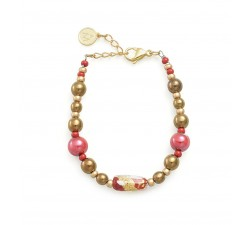 Gabrielle Red - Bracelet - Antica Murrina