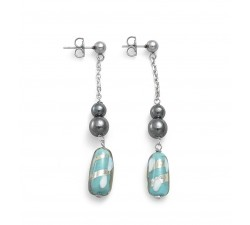 Gabrielle Blue - Earrings - Antica Murrina