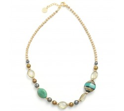 Sophie Blue Green - Necklace - Antica Murrina