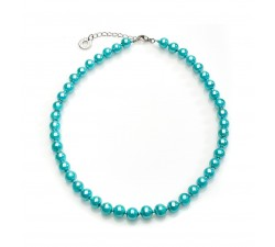 Perleadi - Aquamarine - Necklace - Antica Murrina