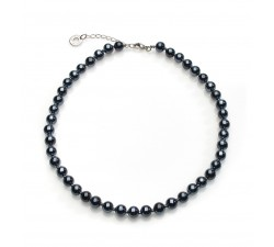Perleadi - Black - Necklace - Antica Murrina
