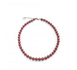 Perleadi - Red - Necklace - Antica Murrina