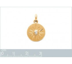 North Star - Gold-Plated Pendant-alt