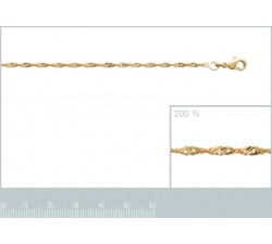 Singapore - Anklet - Gold-Plated-alt