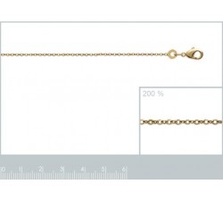 Cable - Anklet - Gold-Plated-alt