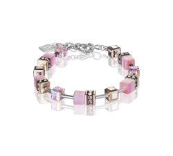 4016 Light Pink - Bracelet Cœur de Lion