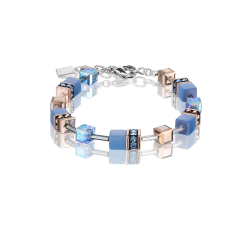 4016 Light Blue - Bracelet Cœur de Lion