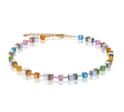 4015 Multicolor Pastel - Necklace Cœur de Lion